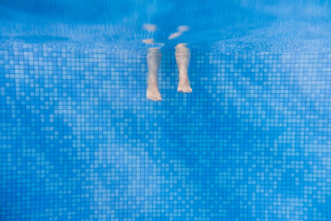 Feet Underwater in Pool Virginia, Maryland, and Washington, DC