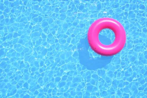 Floatie in Pool